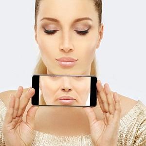 Fjerne rynker mellom nesen og munnen