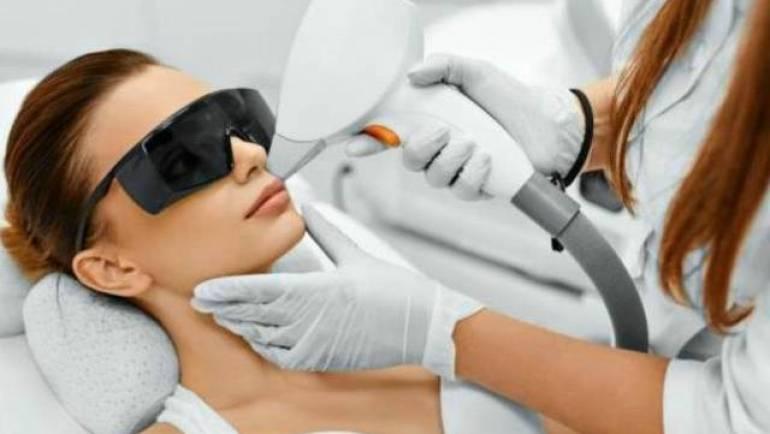 Laserbehandling
