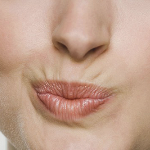 Fjerne røykelinje med botox