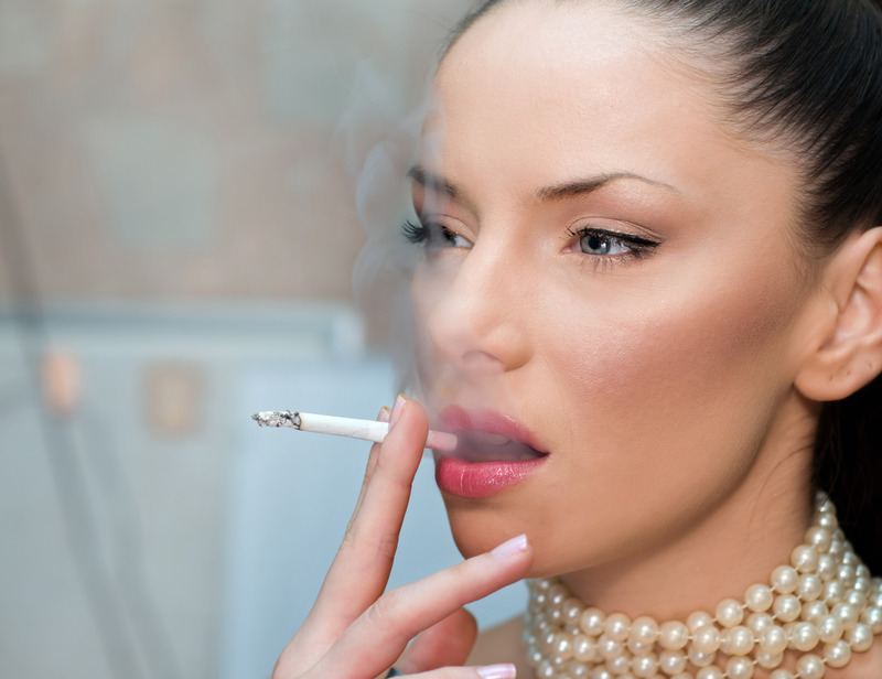 Fjerning av røyelinjer med botox eller filler